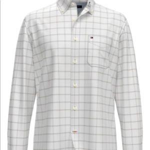 Tommy Hilfiger Men's Von Tattersall Cotton Shirt
